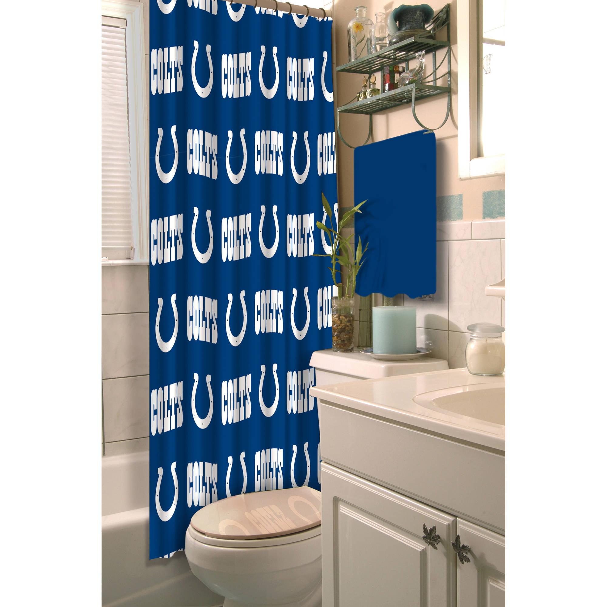 Elegant NFL Indianapolis Colts Decorative Bath Collection Shower Curtain    Walmart.com