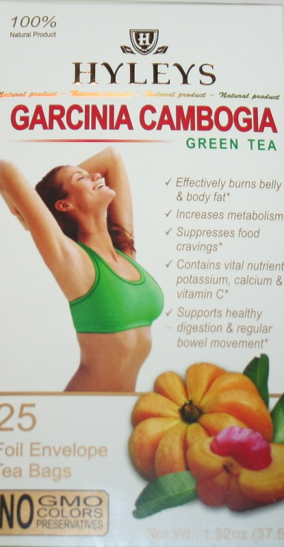 Hyleys Slim Tea Garcinia Cambogia Green Tea 100 Natural 25 Tea