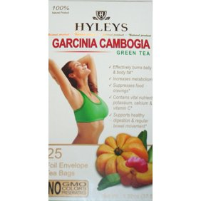 Hyleys 100 Natural Garcinia Cambogia And Goji Berry Slim Green