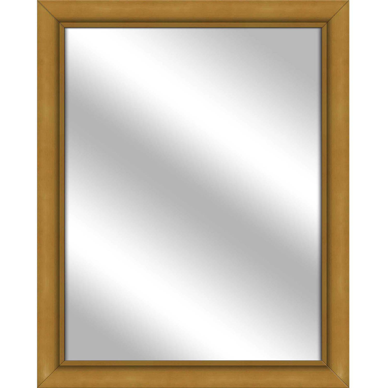 Vanity Mirror, Antique Gold, 25.5x31.5 by PTM Images