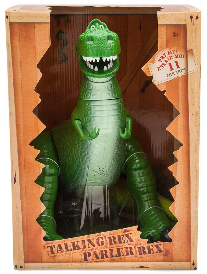 Toy Story Rex Talking Action Figure by