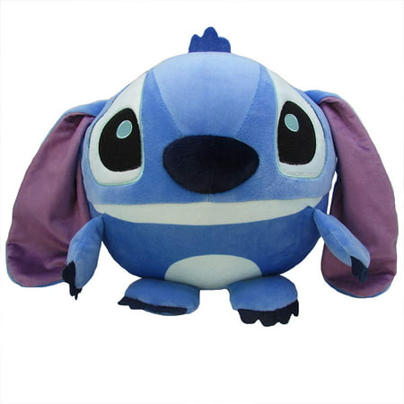 Disney Stitch Round Cuddle Pal Stuffed Animal Plush Toy, 10 Inches