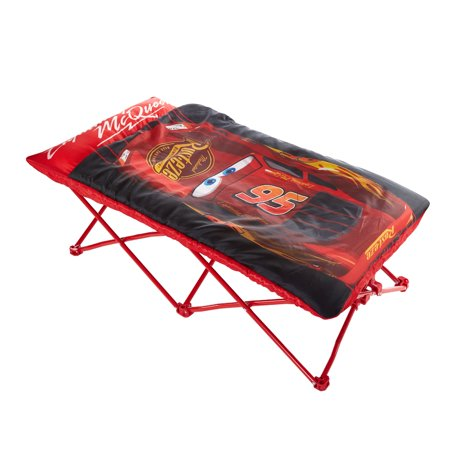 Disney Cars Portable Folding Bed Cot with sleeping