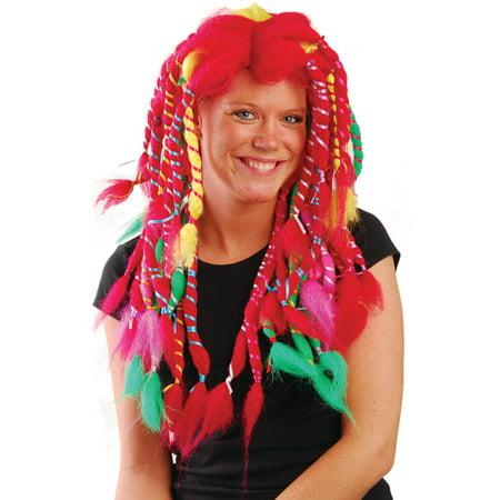 Rainbow Sally Rag Doll Raggedy Anne Costume Wig