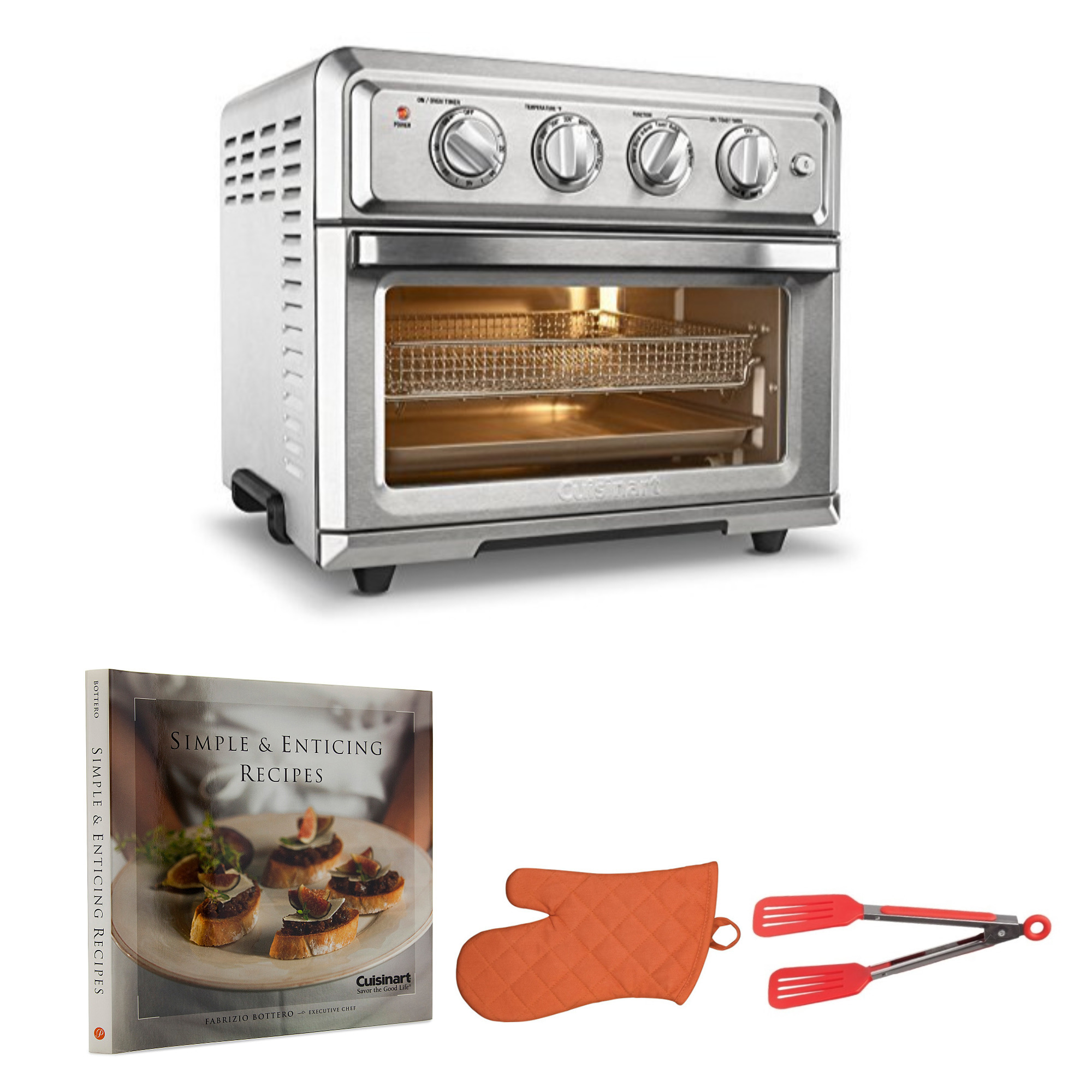 Cuisinart Air Fryer Convection Oven With Cookbook Oven