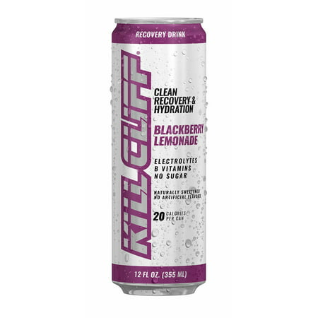 KILL CLIFF Recovery Drink, Blackberry Lemonade, 12 Fl Oz, 24 Ct