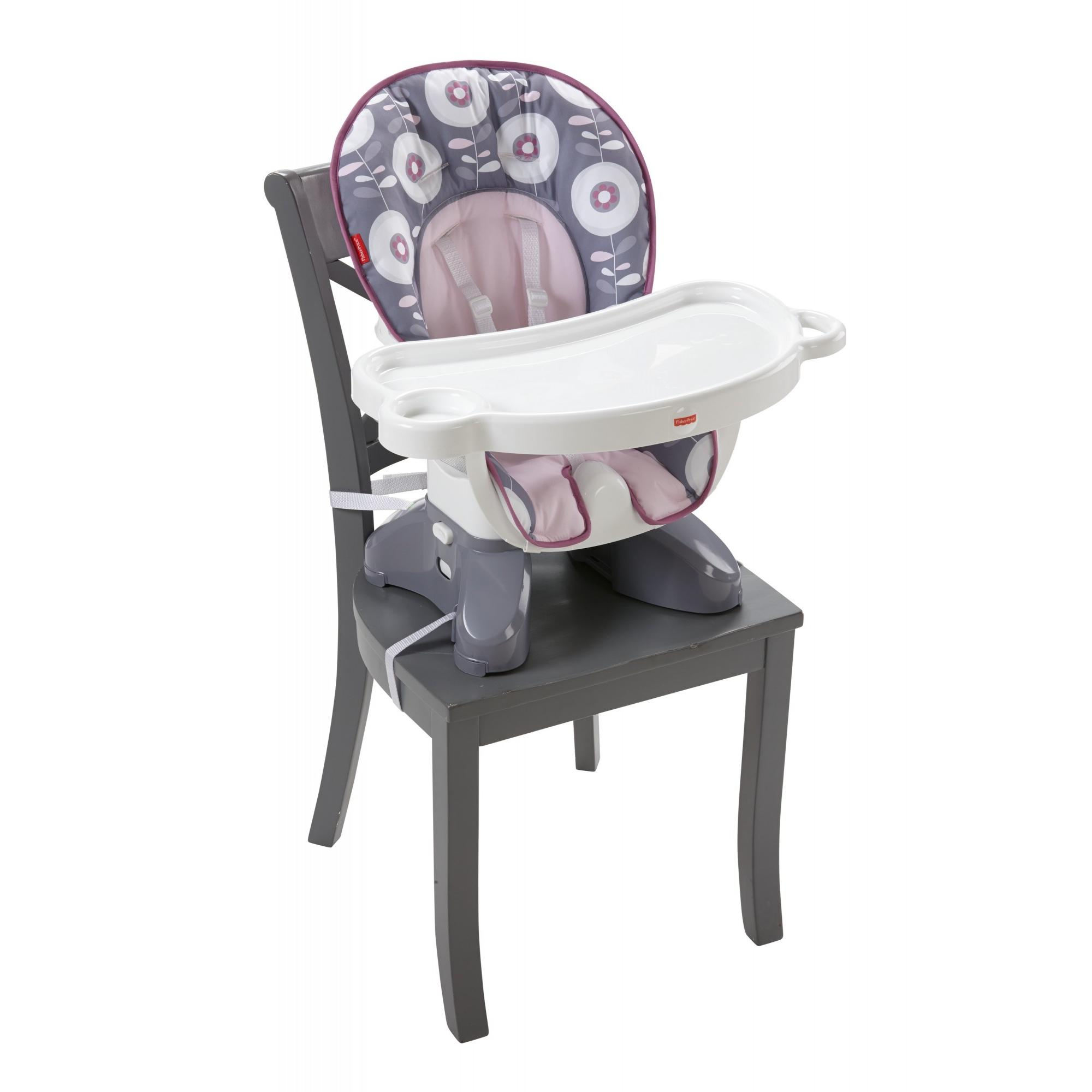 Charmant Fisher Price Space Saver High Chair Girl