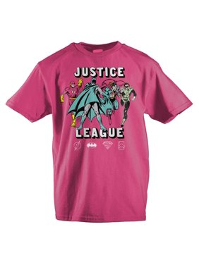 Girls Youth Justice League Clothing Girls Graphic Tee-Medium