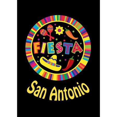 Toland Home Garden Fiesta Pin - San Antonio Garden Flag](Halloween Six Flags Fiesta Texas)