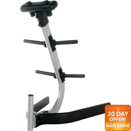 CAP Barbell Standard Plate and Bar Storage Rack by Cap Barbell