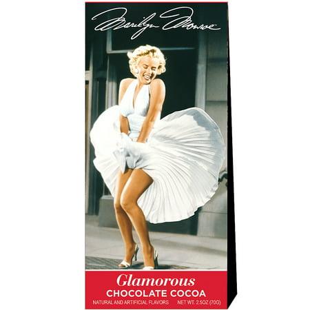 Monroe Chocolate - Marilyn Monroe Cocoa - 2.5 Oz Box Of Glamorous Hot Chocolate Drink Mix