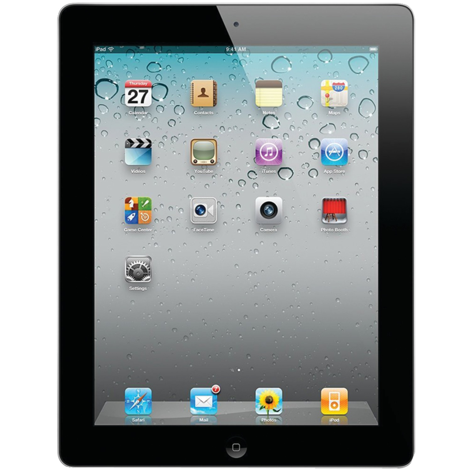 Apple MC769LL/A-ER Refurbished 16GB iPad 2 With Wi-Fi (Black)