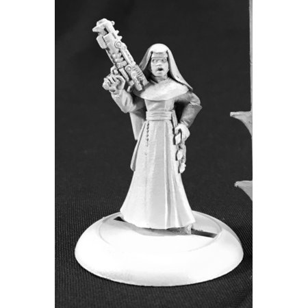 Reaper Miniatures Order of St. George Nun #59048 Savage Worlds Unpainted - 97a Miniature