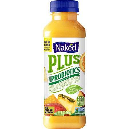 Naked Juice Boosted Smoothie, Blue Machine, 15.2 oz Bottle