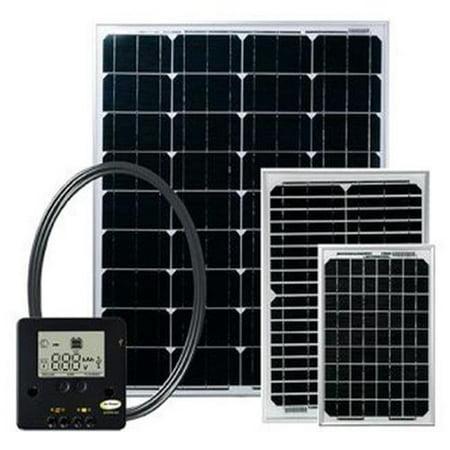 Go Power G75-GPECO80 80 Watt Solar Kit with Controller, 4.6 (Best Solar Power Kit)