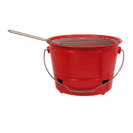 Bbq Bucket (Tex Sport Portable Barbecue BBQ Bucket Grill)