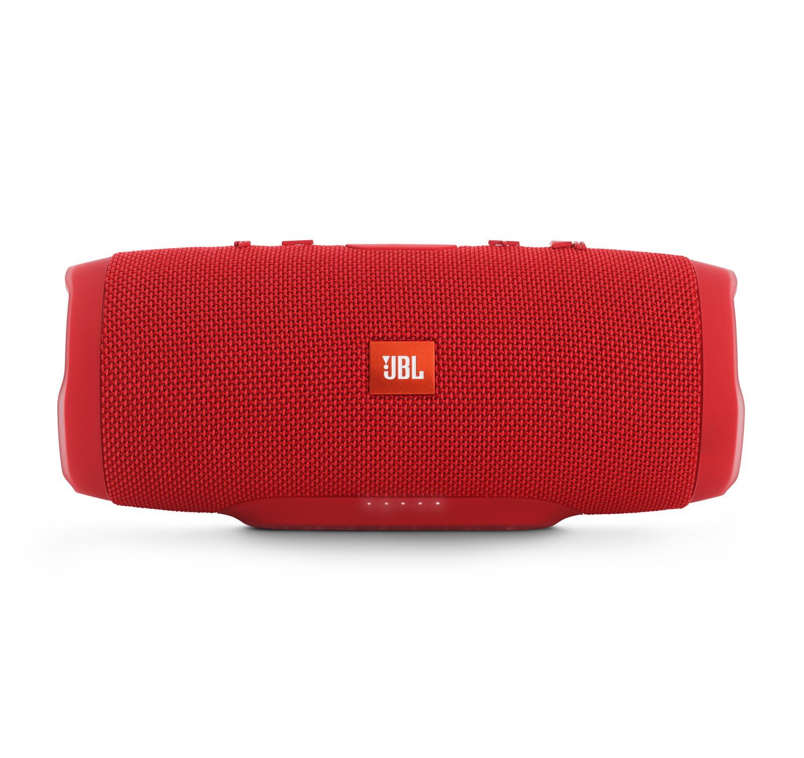 JBL Charge 3 Red Open Box Waterproof Portable Bluetooth Speaker by JBL