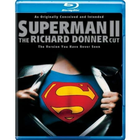 Superman Ii  The Richard Donner Cut  Blu Ray   Digital Hd With Ultraviolet   With Instawatch   Walmart Exclusive