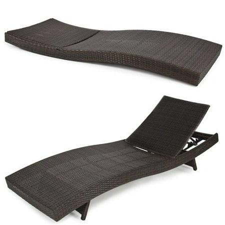 Bcp Outdoor Patio Furniture Wicker Rattan Adjustable Pool