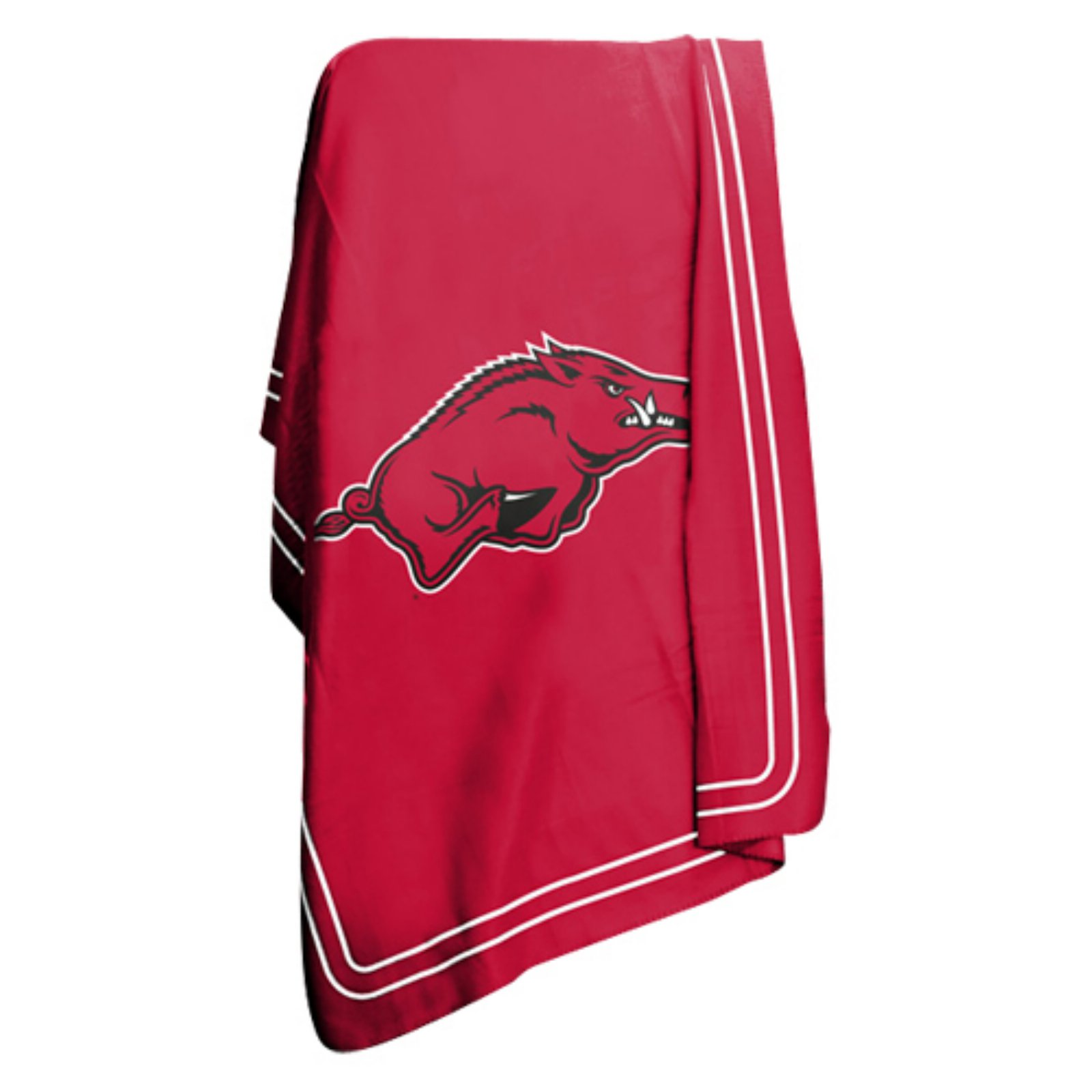 """Logo Chair NCAA Arkansas 50"""" x 60"""" Classic Fleece Throw"""