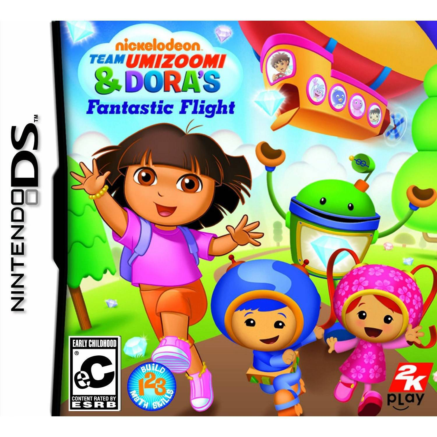 Dora the Explorer: Nickelodeon Dora & Team Umizoomi's Fantastic Flight (DS)
