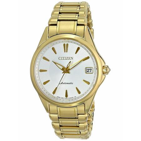 CITIZEN Women's Signature Grand Classic Automatic Gold Tone Watch ()