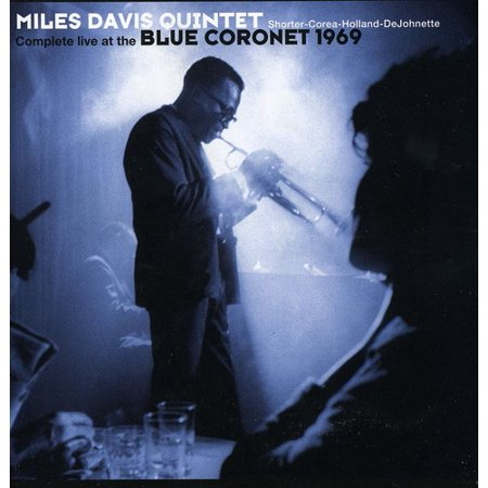 Complete Live at the Blue Coronet 1969 (CD) (Miles Davis Complete Live At The Plugged Nickel)