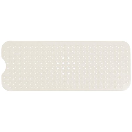Non-Slip Bath Shower Mat with Powerful Suction Cups Rectangle Secure Safety Mat for Bathtub Kitchen Bathroom Home Cream (Shower Safety Mat)