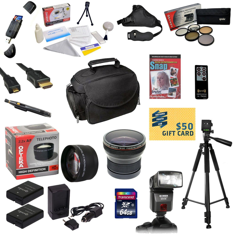 Opteka Pro Shooter Kit for Nikon D100 D200 D300 D300s wit...