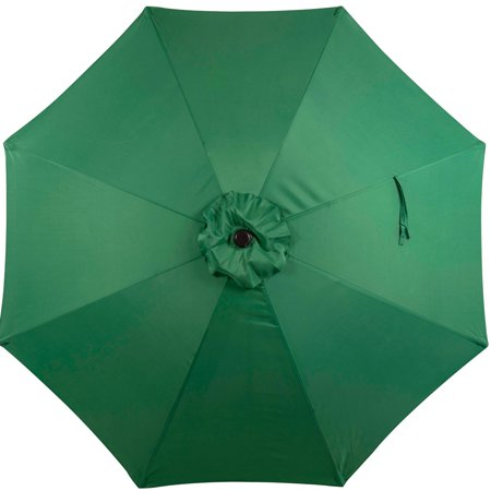 Sundale Outdoor 9 Feet Patio Umbrella Replacement Canopy Cover For 8 Ribs Yard Garden Polyester
