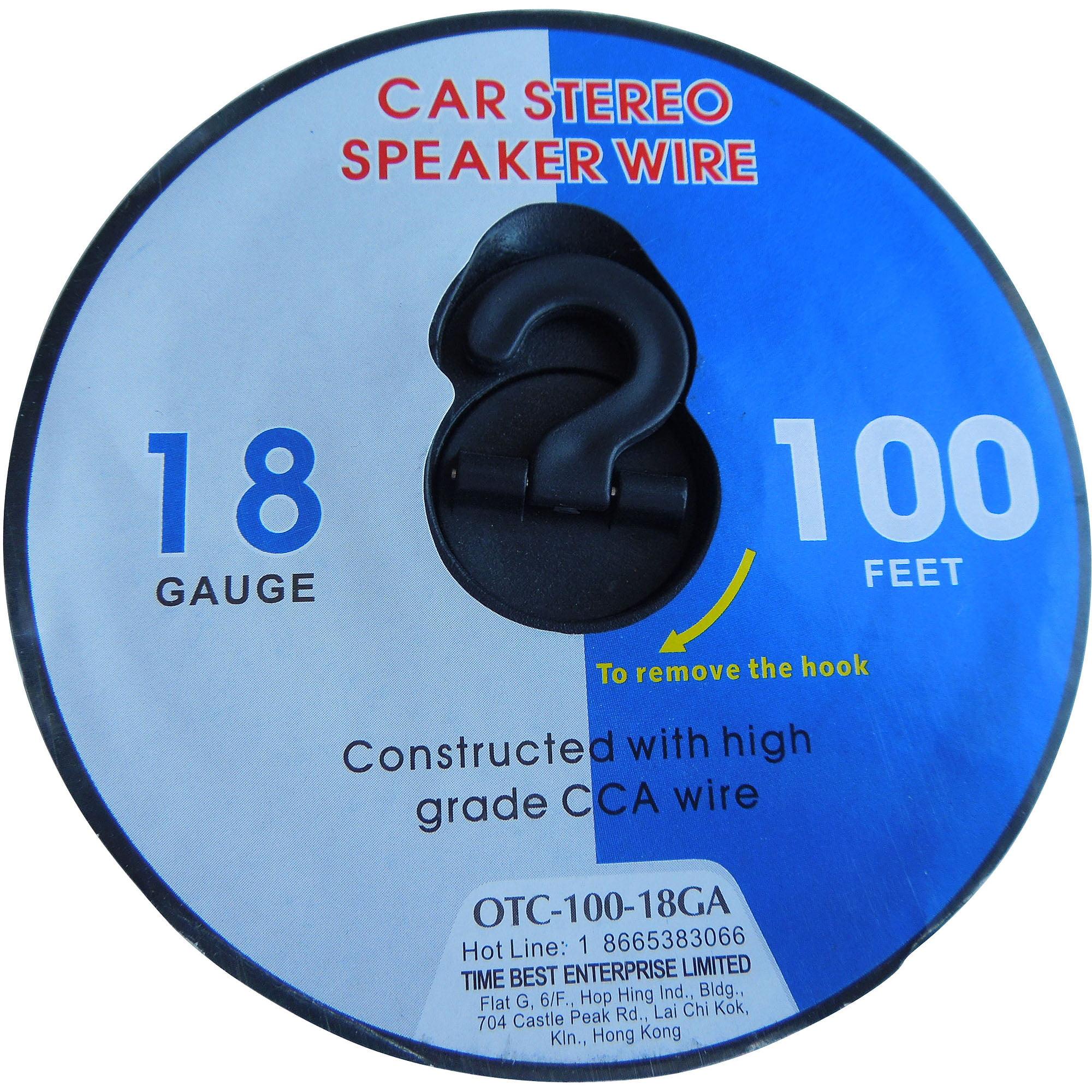 18AWG Speaker Wire - Walmart.com