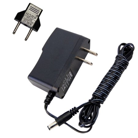 HQRP AC Adapter / Power Supply for Ibanez TS9DX TURBO TUBE SCREAMER / WD7  WEEPING DEMON WAH Guitar Effects pedals + HQRP Euro Plug Adapter