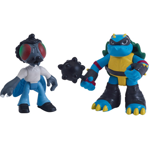 Stockman-Fly & Slash Action Figure 2-Pack Half Shell Heroes