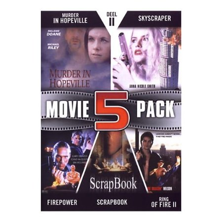 - Movie 5 Pack Collection (Part 11) ( Murder in Hopeville / Skyscraper / Firepower / Scrapbook / Ring of Fire II: Blood and Steel ) ( Black Swan / Sky [ NON-USA FORMAT, PAL, Reg.2 Import - Netherlands ]