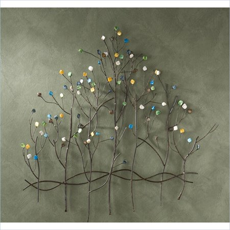 Holly & Martin Lucie Wall Sculpture in Painted Bronze
