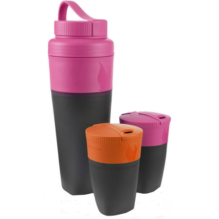 Light My Fire Pack Up Drink Kit Fuchsia and Orange (Fire Food And Drink)