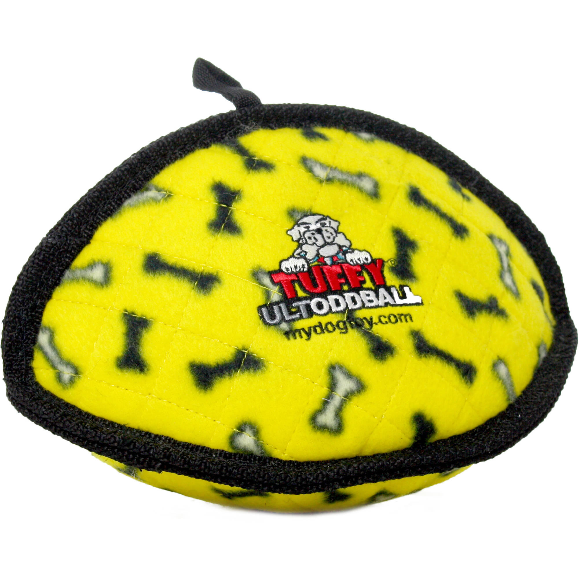 Juguete Para Perros Tuffy Ultimate Odd Ball, Yellow Bone + Dogs Toys en VeoyCompro.net