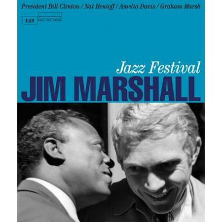 Jazz Festival Poster Card (Jim Marshall: Jazz Festival)