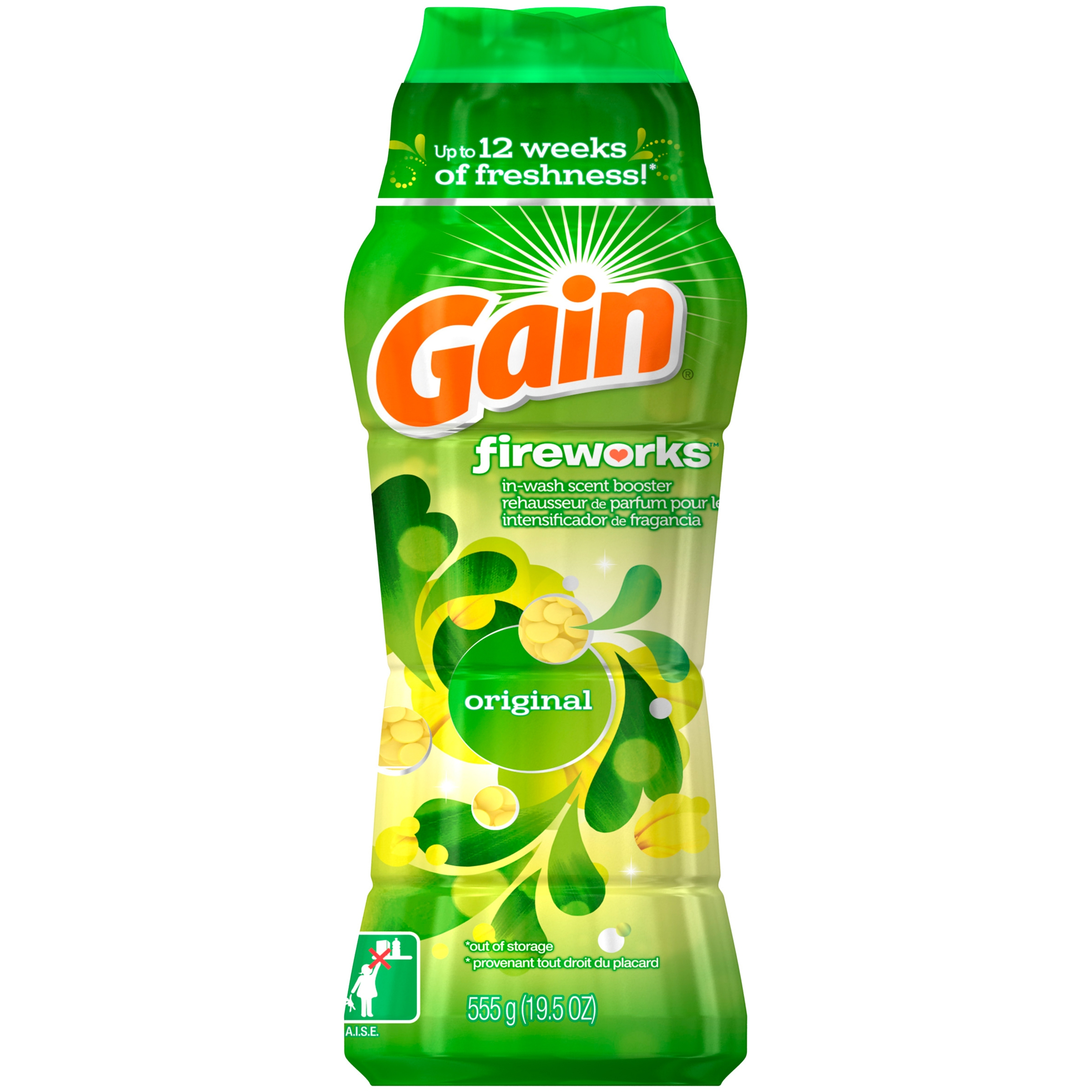 Gain Fireworks Original In-wash Scent Booster Beads, 19.5 oz