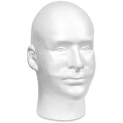 Bulk Buy: FloraCraft (2-Pack) Styrofoam Head EPS Male Bul...