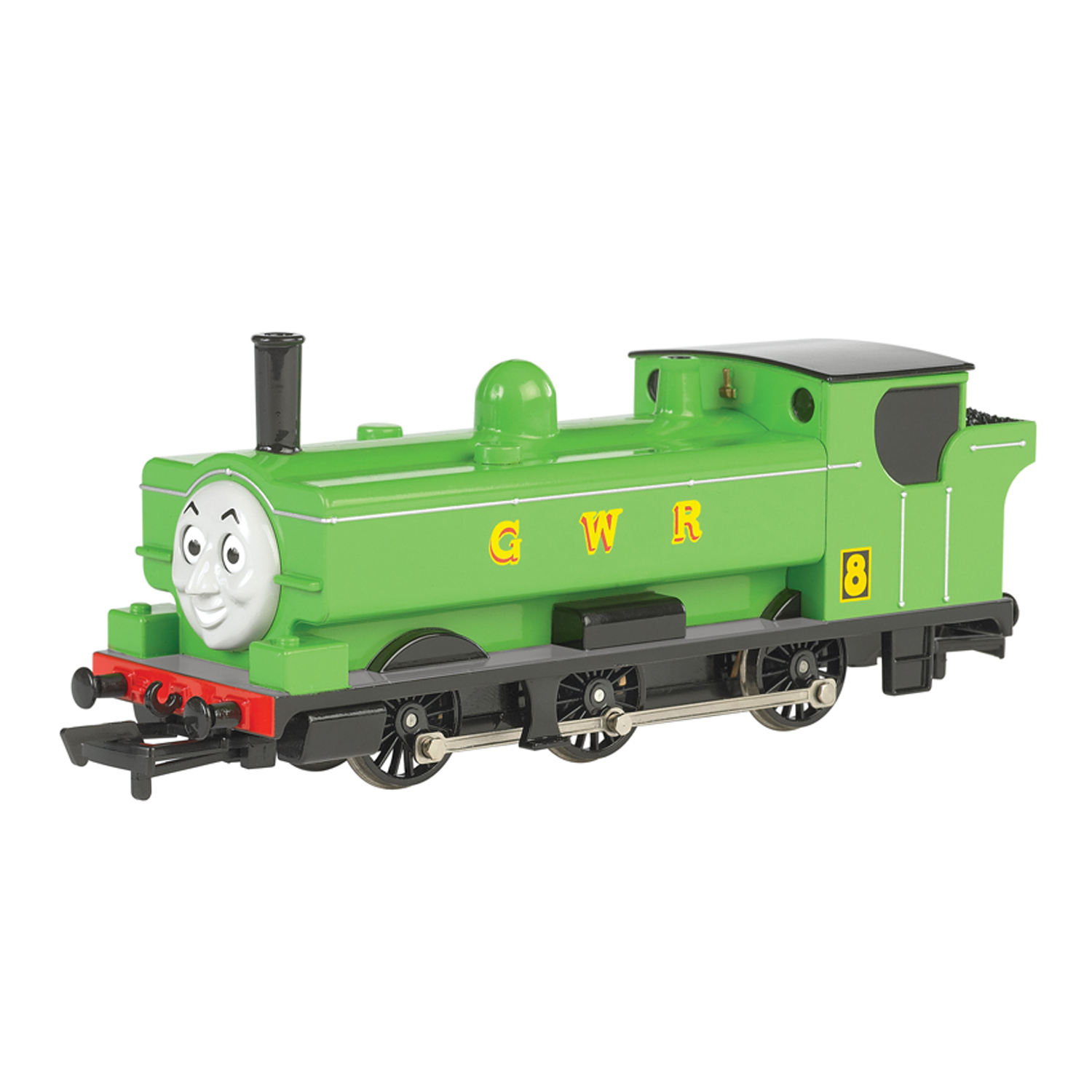 Bachmann Trains Thomas and Friends Green Duck Train Character Toy Moving Eyes