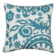 Brite Ideas Living Suzani True D-Fiber Pillow - Turquoise