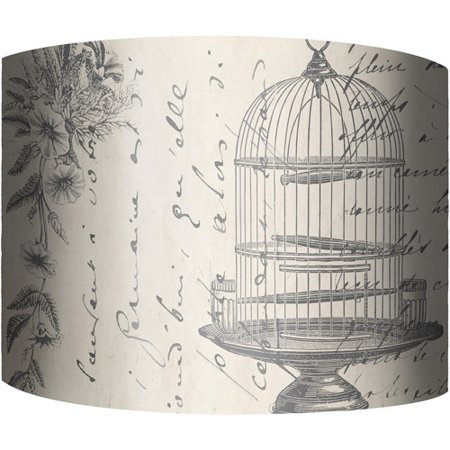 12 drum lamp shade bird cage walmart 12 drum lamp shade bird cage aloadofball Image collections