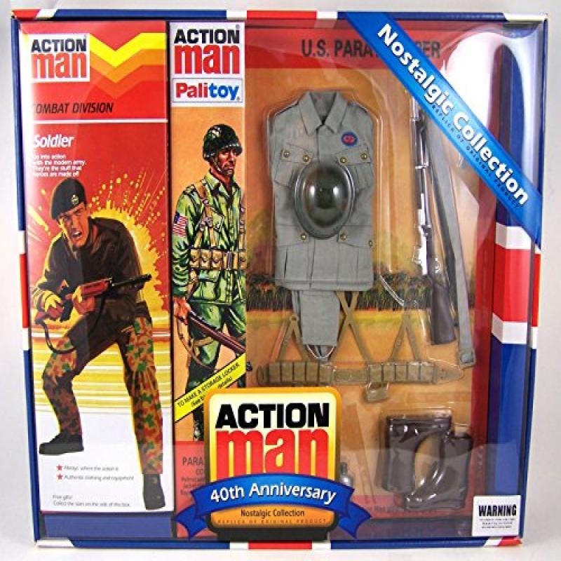 Action Man 40th Anniversary Nostalgic Collection Combat D...