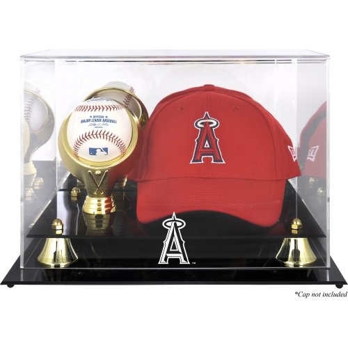 Los Angeles Angels Fanatics Authentic Acrylic Cap and Baseball Logo Display Case - No Size