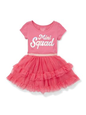 ce8c71da608 Product Image Knit to Woven Mini Squad Dress (Baby Girls   Toddler Girls)