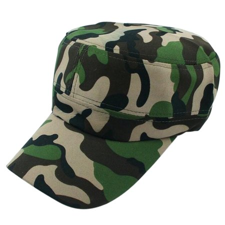 Outtop Men Women Camouflage Outdoor Climbing Baseball Cap Hip Hop Dance Hat Cap