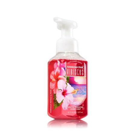 Bath Body Works Gentle Foaming Hand Soap Hawaiian Pink Hibiscus