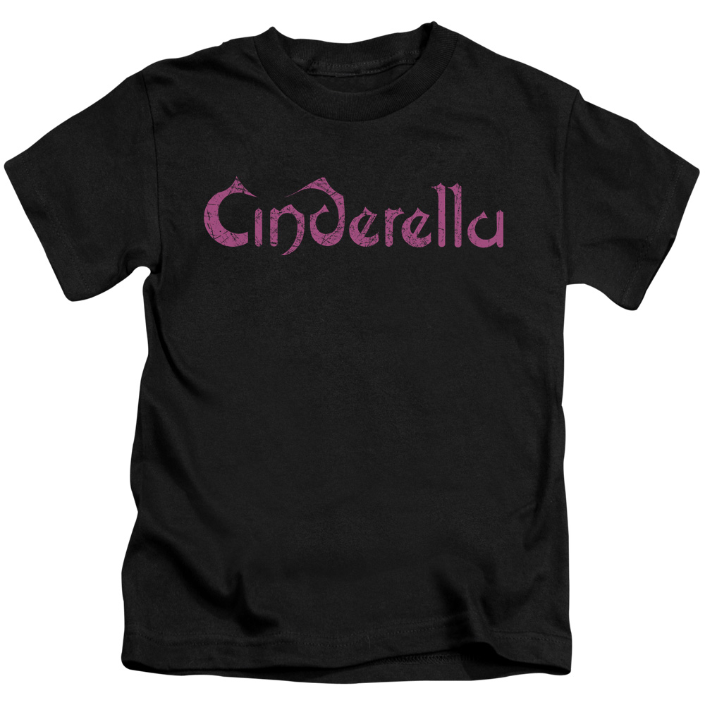 Cinderella Logo Rough Little Boys Shirt