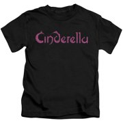 Cinderella Logo Rough Little Boys Shirt